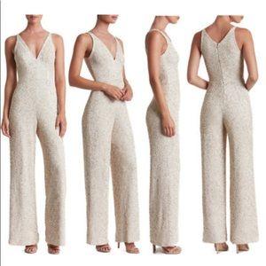 fd2e9c5c16f Dress the Population Dresses - NWT Dress The Population Charlie Sequins  Jumpsuit